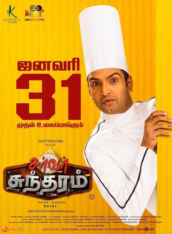 Santhanam Movie Server Sundaram From January 31 177