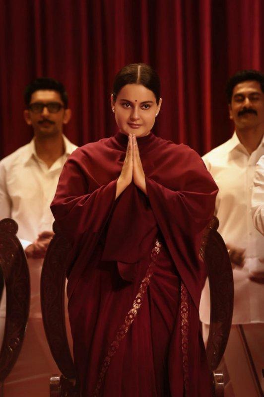 Kangana Ranaut In Thalaivi Movie New Photo 627