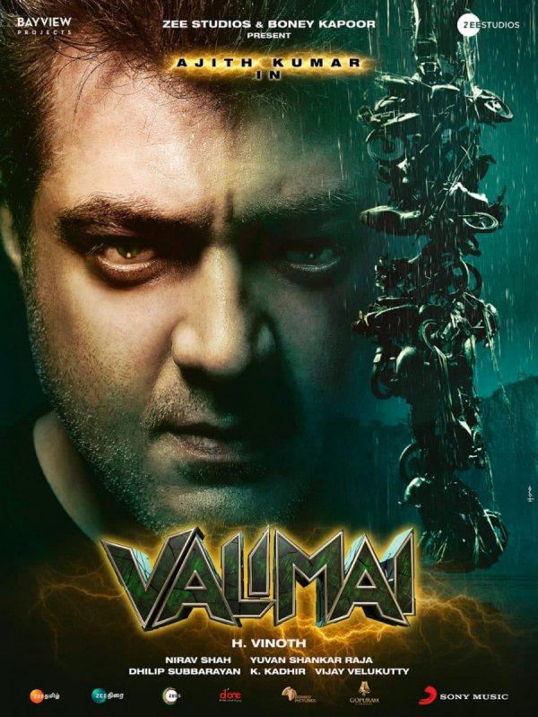 Ajith Kumar Valimai First Look Movie 780