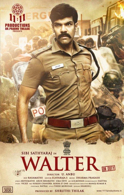 Sibi Sathyaraj In New Film Walter 988