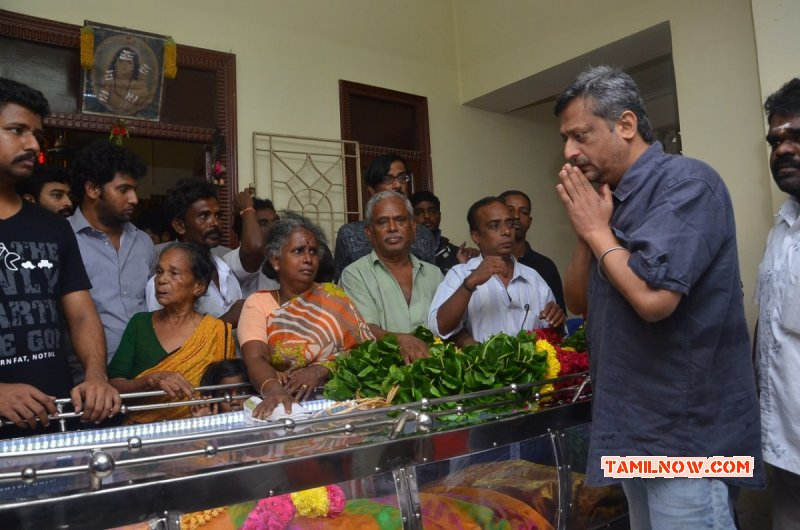 Tamil Movie Event Aachi Manorama Passed Away Oct 2015 Picture 9141