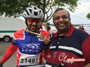 Actor Arya At Vatternrundan Race