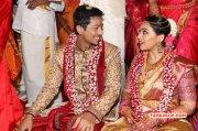 Actor Vishal Sister Aishwarya Wedding Latest Stills 7639