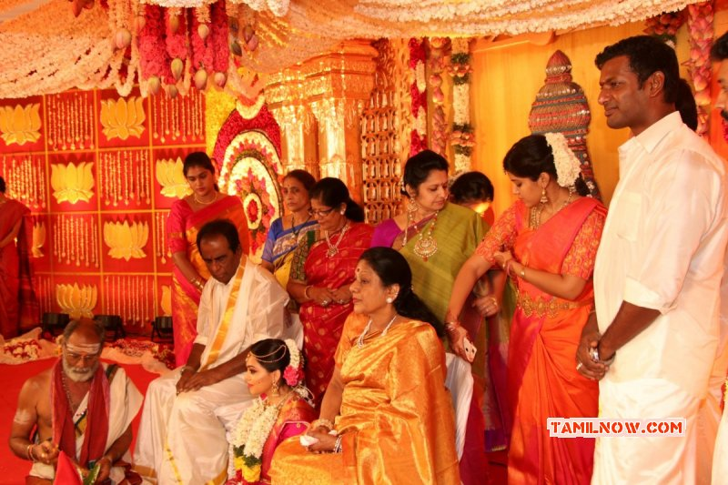 Tamil Function Actor Vishal Sister Aishwarya Wedding 2017 Pic 1069