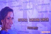 Actress Sanjana Singh Press Meet 7734
