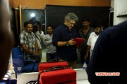 Ajith Working Stills For Sivabalan Photoshoot Event 2015 Pics 6756