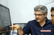 New Albums Ajith Working Stills For Sivabalan Photoshoot Tamil Movie Event 5239