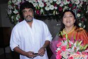 Sundar C Khushbu At Ramya Aparajith Reception 284