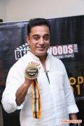 Kamal Haasan With Behindwoods Gold Medals 400