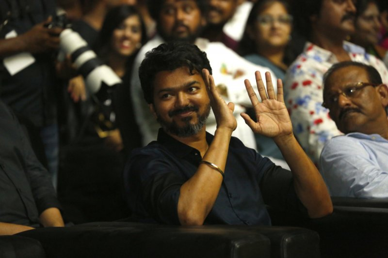 Thalapathy Vijay At Bigil Audio Release Function 951
