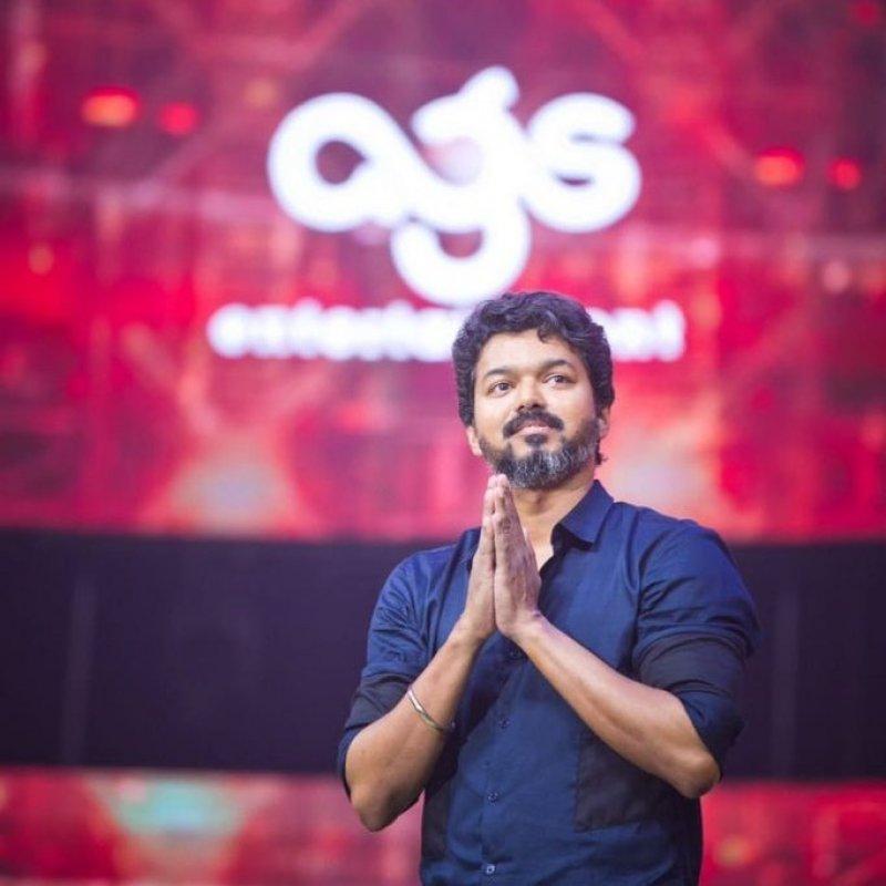 Vijay At Bigil Audio Launch Event 337