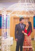 Bobby Simha Reshmi Menon Wedding Reception 20