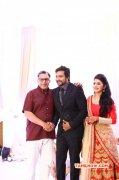 Recent Pic Bobby Simha Reshmi Menon Wedding Reception 3000