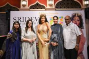 Boney Kapoor Janhvi Khushi Unveil Sridevi Wax Statue At Madame Tussauds 2019 Picture 8101