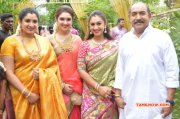 Celebrities At Shanthanu Keerthi Wedding