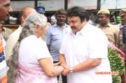 Latest Pics Celebrities Pay Last Respect To Ms Viswanathan Function 8975