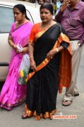 Tamil Function Celebrities Pay Last Respect To Ms Viswanathan 2015 Pic 1569