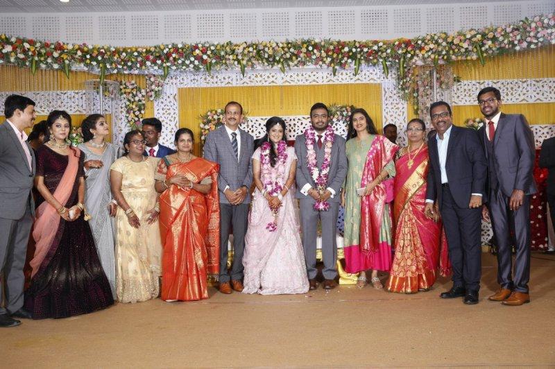 Charlie Son Adhithiya Wedding Reception Tamil Movie Event Recent Gallery 3886