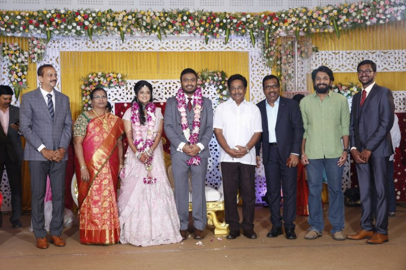 Charlie Son Adhithiya Wedding Reception Tamil Movie Event Sep 2019 Photos 669
