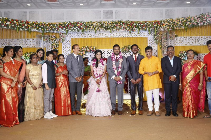 Tamil Movie Event Charlie Son Adhithiya Wedding Reception New Albums 2256