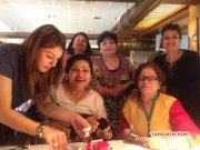 Hansika Throws Surprise Party On Mom Birthday