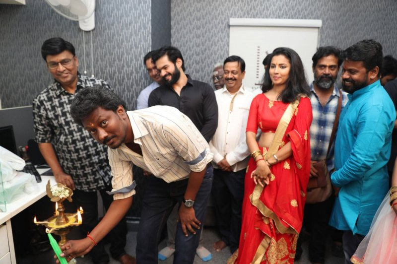 Recent Albums Tamil Event Ikk Movie Pooja 3034