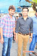 Udhayanidhi Stalin And Santhanam Event Pic 523