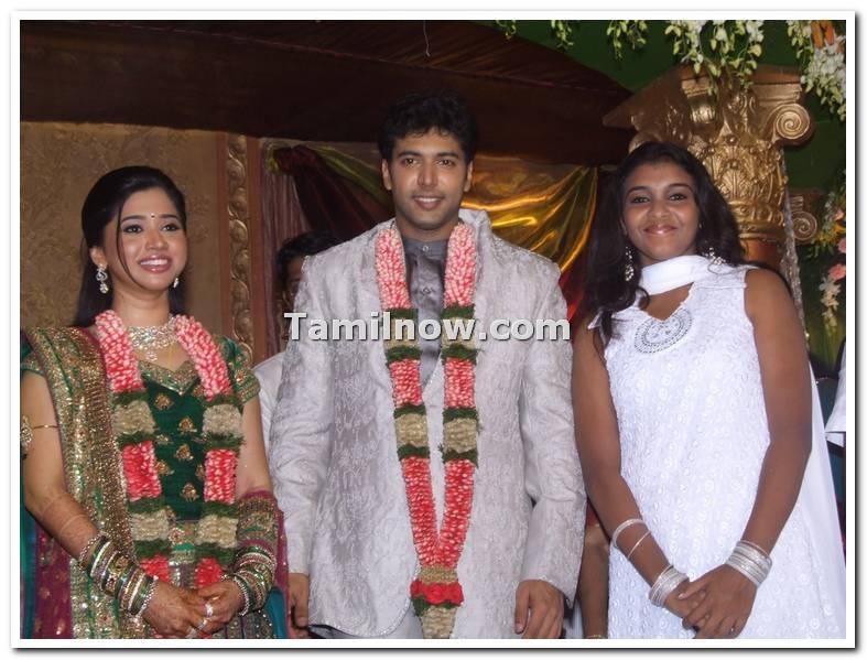 Jayam Ravi Marriage Reception Photo 8