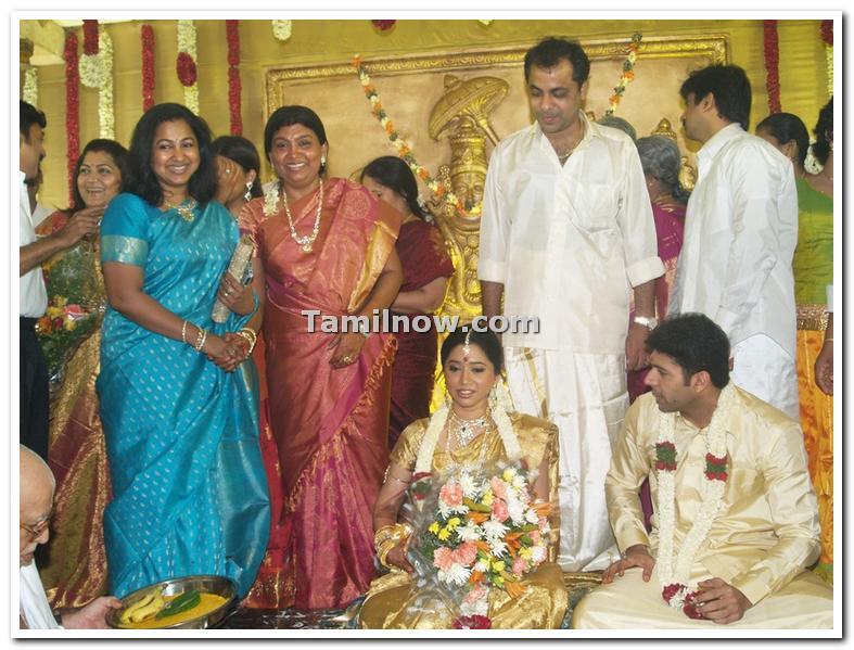 Kumaraswamy radhika marriage