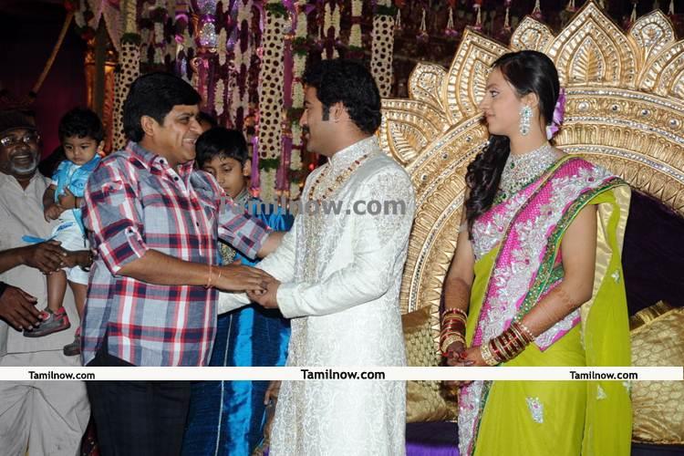 Jr ntr lakshmi pranathi wedding pics 11