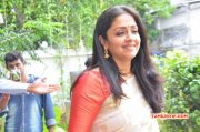 Jyothika At Heirloom Kanjivaram Exhibition
