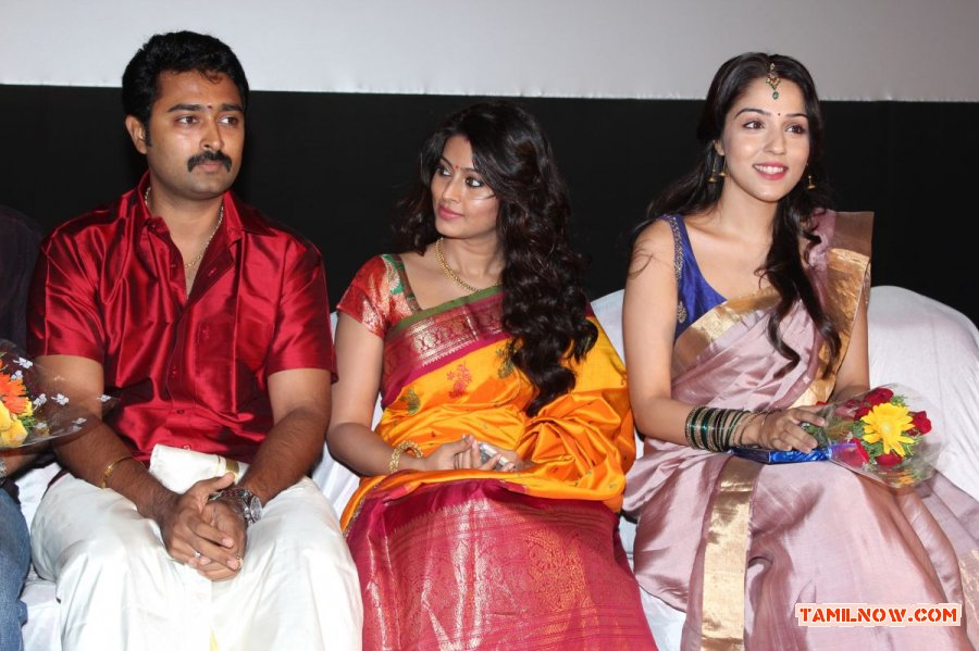 prasanna sneha and lekha washington 790   tamil movie event kalyana samayal sadam audio launch