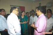 Kamal Haasan At The Untitled Movie Pooja 487