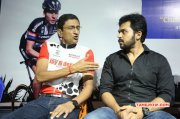Karthi At Cf Square Cycling Club Launch Tamil Movie Event New Galleries 87