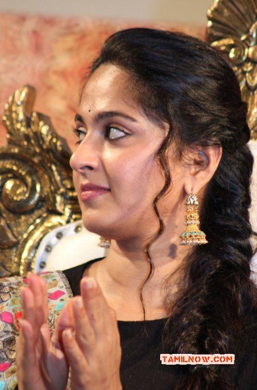 Actress Anushka Shetty At Lingaa Audio Launch Event New Photo 336
