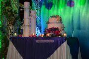 Mamta Mohandas Prajith Padmanabhan Wedding Cake 594