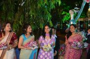 Mamta mohandas wedding reception stills 4160
