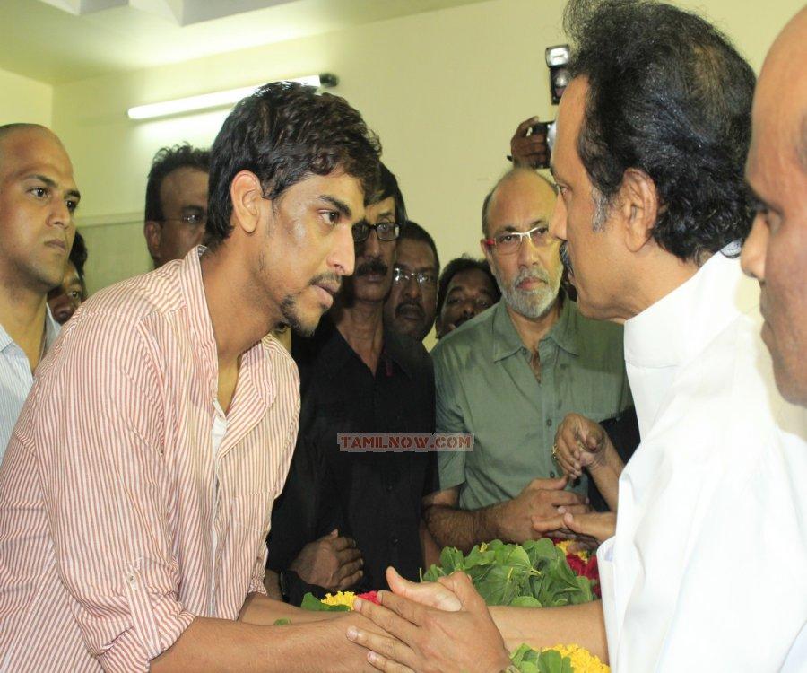 Can read actor manivannan funeral photos the