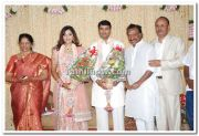 Meena Vidyasagar Marriage Reception Photo 1