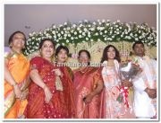 Meena Vidyasagar Marriage Reception Photo 2