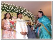 Meena Vidyasagar Marriage Reception Stills 2