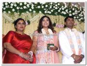 Meena Vidyasagar Marriage Reception Stills 3