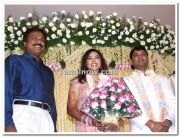 Meena Vidyasagar Marriage Reception Stills 4