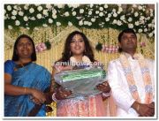 Meena Vidyasagar Marriage Reception Stills 5