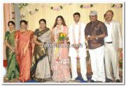 Meena With Bhagyaraj And Poornima