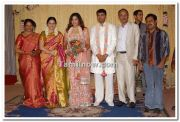 Meena With Devayani Family