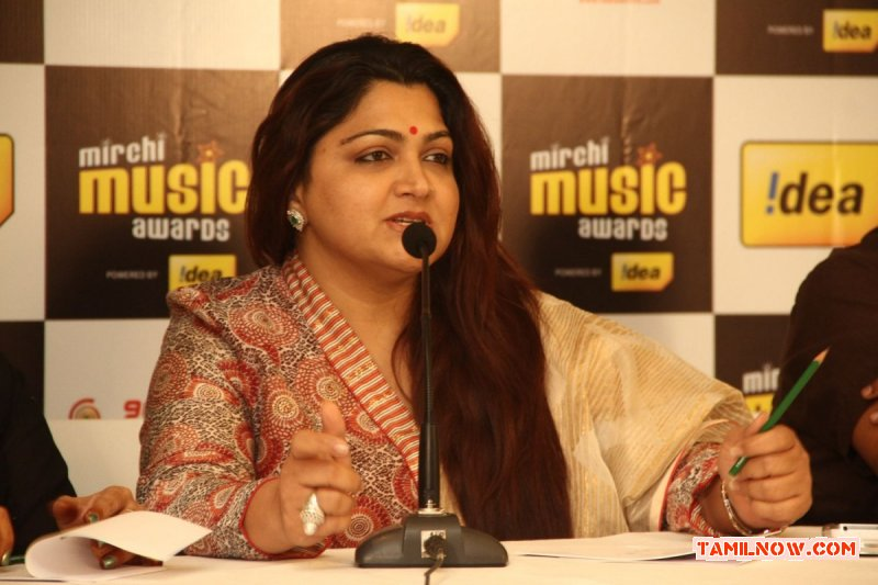 Khushbu At Mirchi Music Awards Press Meet 980