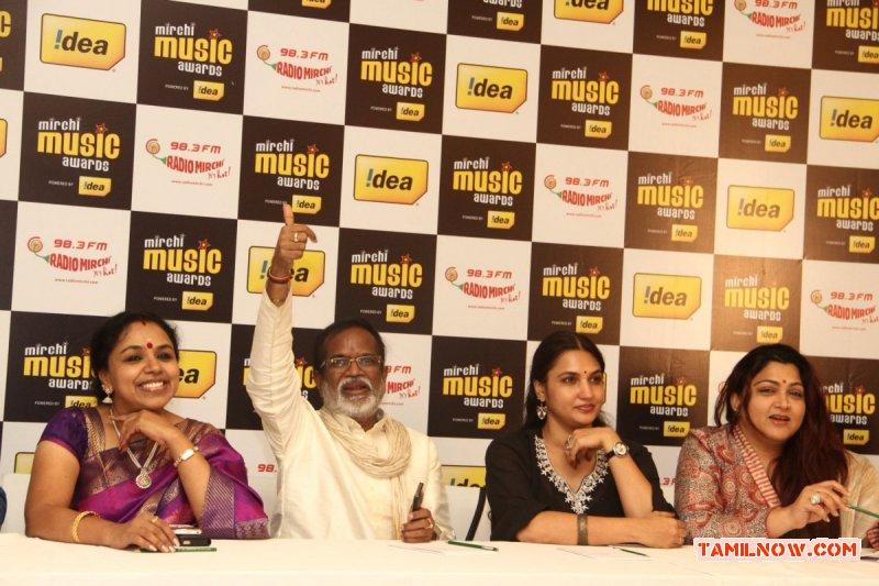 Mirchi Music Awards South 2013 Jury Pressmeet 3797