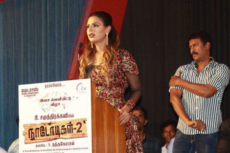Recent Pics Tamil Function Naadodigal 2 Audio Launch Pressmeet 3044