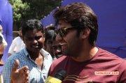 Arya At Nadigar Sangam Election 2015 226